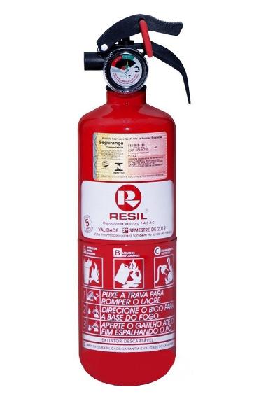 Extintor Automotivo Universal, ABC, 2 kg