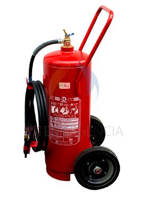 Extintor carreta pó  ABC 30 kg
