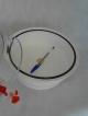 Dessecador de plástico 200 mm SEM vacuômetro LABORCHEMIKER LCK-4200-VAC