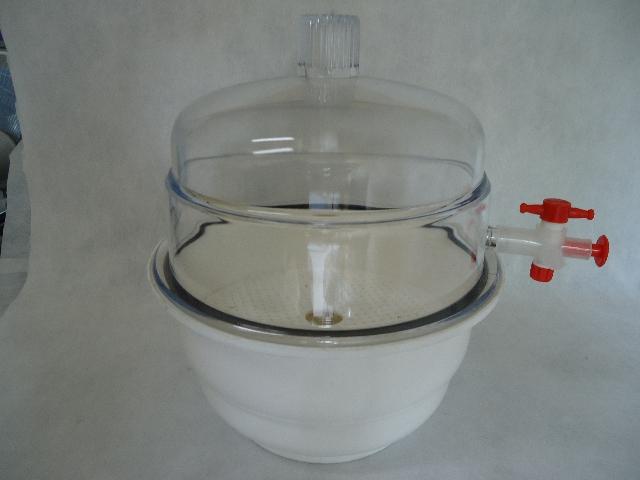 dessecador de plástico 200 mm