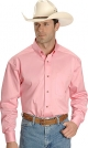 Ariat Pink Twill Cowboy Shirt