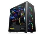 Gabinete Atx TT V200 Tg/Black/Win/Spcc/Tempered Sem Fonte