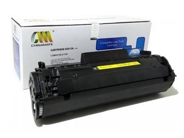 Toner Compatível Hp 2612A Q2612A 12A   1010 1015 1018 1020 1022 Premium