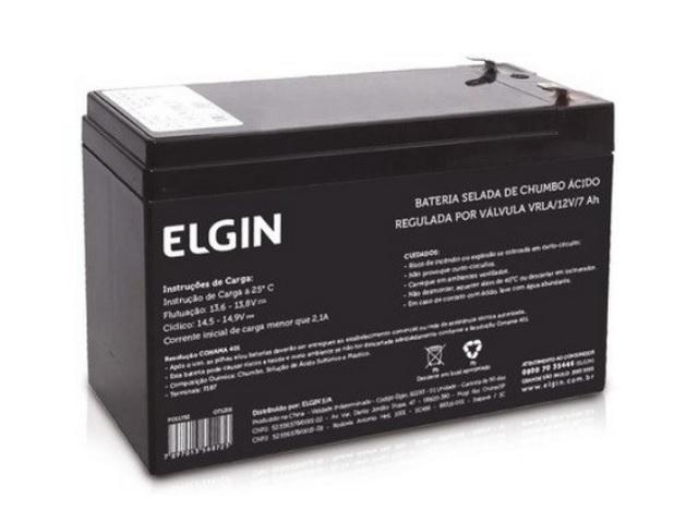 Bateria Selada 12v 7ah Elgin