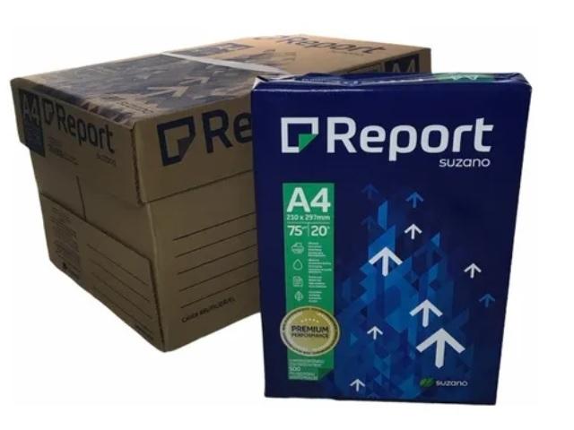 Caixa Papel Sulfite A4 Rino Office - 10 pacotes de 500 folhas(5000 folhas)