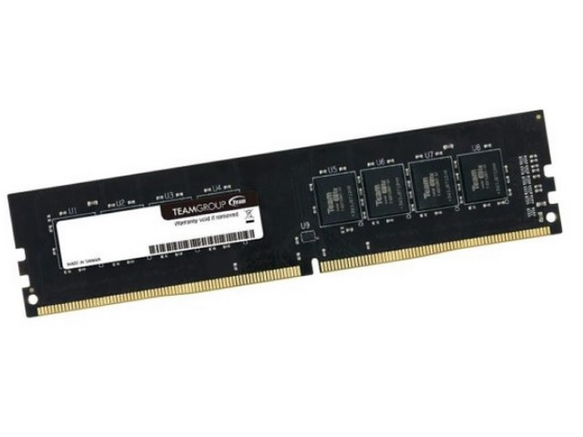 Memoria Desktop 4gb Ddr4 2400mhz Team Group - TED44G2400C16BK
