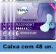 FRALDA TENA LADY DISCREET MAXI NIGHT CAIXA 48 UN.