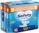 FRALDA SAFETY CONFORT G COM 50 UNIDADES