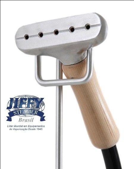 Bico Ferro + Punho Madeira Steamer Jiffy