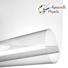 Acetato Transparente 15 Micras A4 - 10 Folhas