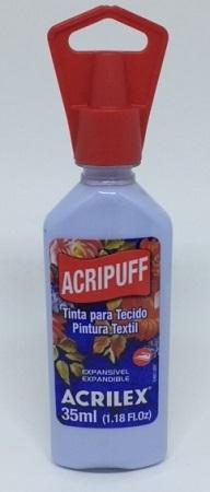 Acripuff Acrilex - 35ml Azul Bebe