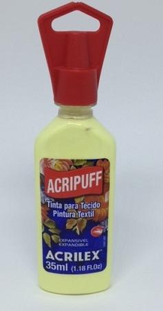 Acripuff Acrilex - 35ml Amarelo