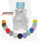1ce7225105 Frasco Plástico em PVC Urso para Lembrancinhas 120 ml. Cod.1421