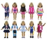 *KIT PROMOCIONAL* 03 Roupas Para American Girl & Outras Bonecas Bebê !