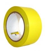 Fita Demarcação Adesiva Amarela