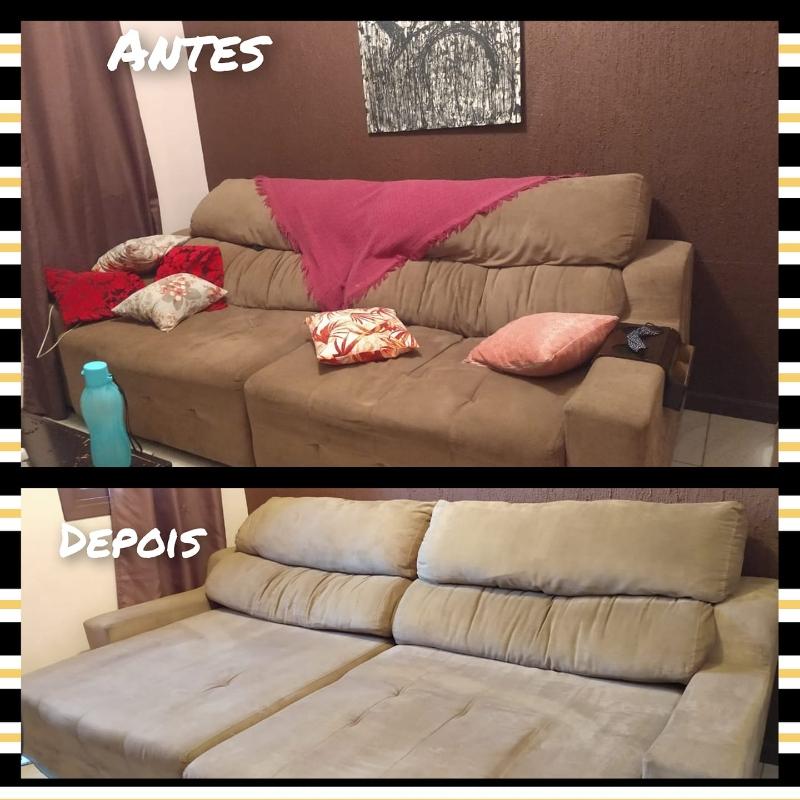 Limpeza de sofá a seco em Paiçandu