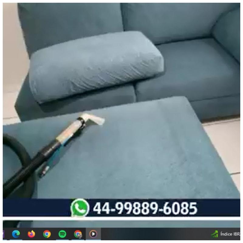 Agende Limpeza  sofá  a seco atendimento toda região MGA