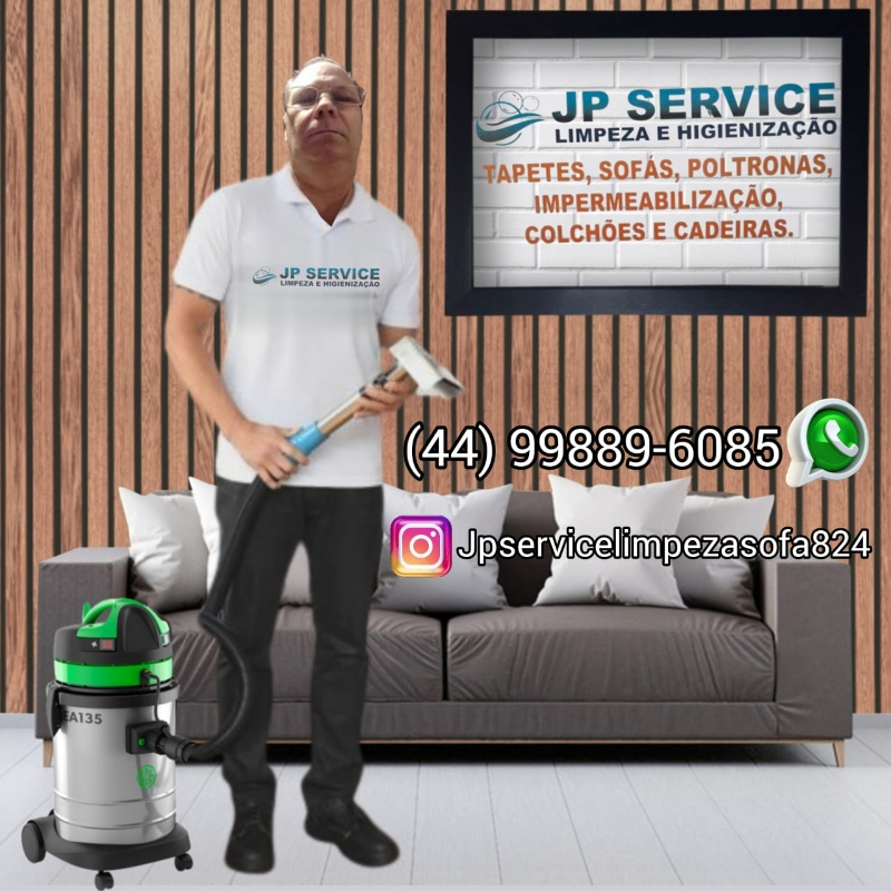 Higienização de Sofá simples e rápida