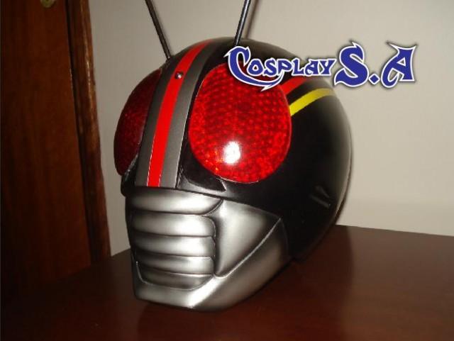 Capacete Kamen Rider Black