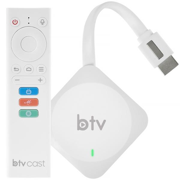 Receptor BTV Cast BC13 4K Ultra HD com Wi-Fi e Bluetooth - Frete Grátis?cache=2021-10-15