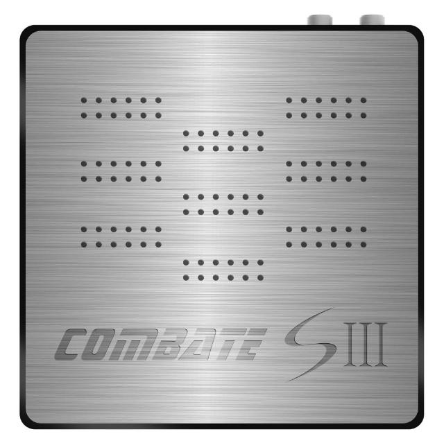 Receptor Tocomsat Combate S III - Frete Grátis