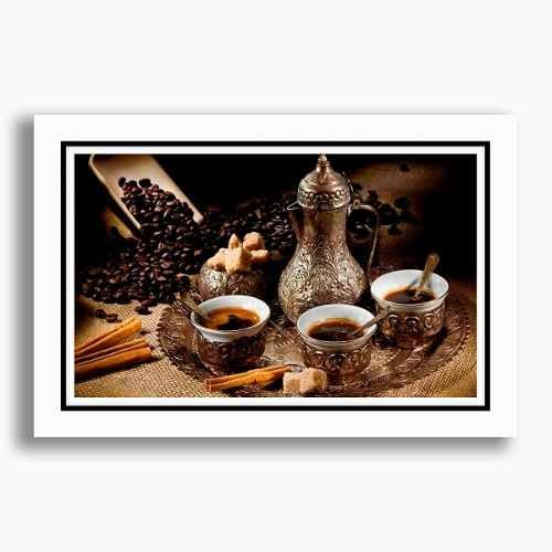 kit 3 Quadros Decorativos 60x40cm P/ Restaurante Copa e Cozinha