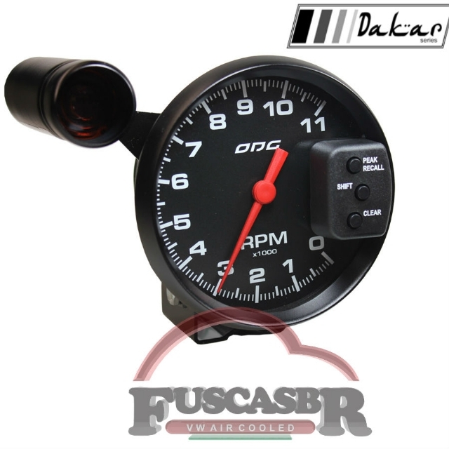 CONTAGIROS ODG DAKAR FULL COLOR 11.000 RPM 127mm SHIFT LIGHT