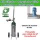 Promoção Kit Cil. de alumínio - 3 lts e Regulador Click