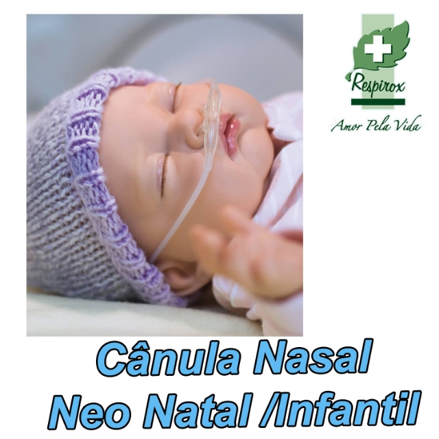 Cânula Nasal Intermediária Neo Natal /Infantil- Cod. 1615