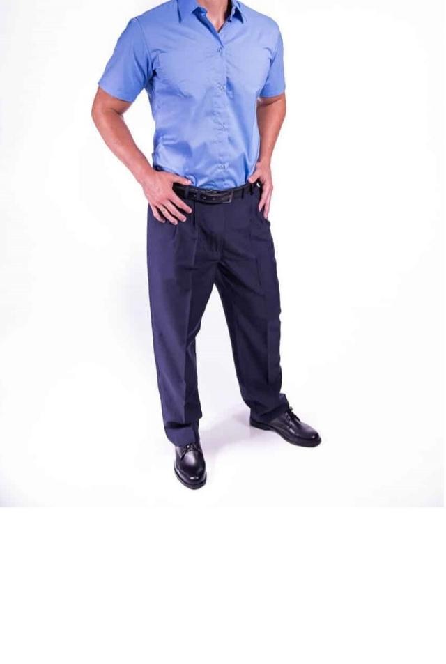 Apresentação de uniformes para porteiros e recepção