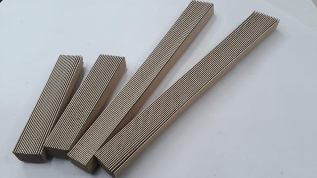 Papelão Tipo Italiano p/ fole 31mm de altura 16 dobras (Kit para 5 foles) Código 135/5