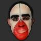 Máscara Homem Zíper