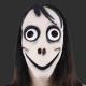Máscara Menina Malvada Momo