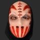 Máscara Homem Cortado