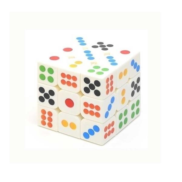 Cubo Mágico 3x3x3 - Dado - Dominó