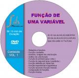 Dvd Função Vol.1 com 30min aulas exclusivas(NÃO estão no Youtube) e 4h43min aulas abertas