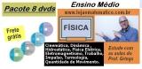 PACOTE 8 dvds Física Ensino Médio (com 23% de desconto)
