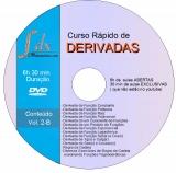 Dvd VOL.2-B - Curso Rápido de Derivadas: 30min de aulas exclusivas e 6h de aulas abertas