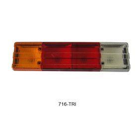 LANTERNA TRASEIRA COM VIGIA LADO ESQUERDO 717V-TRI 6885447203