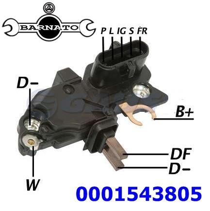 REGULADOR ELETRONICO 28 CAMPO NEGATIVO 0001543805