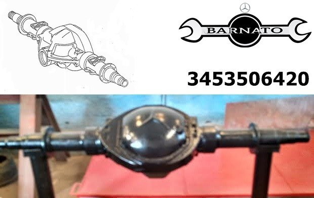 CARCAÇA DO EIXO HL5 VAZIA NO ESTADO 3453506420