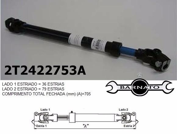 COLUNA DE DIREÇÃO 7004600209