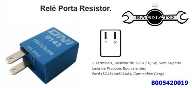 MINI RELE DE CONEXÃO PORTA 8005420019