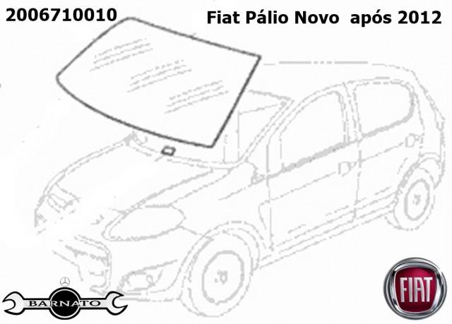 PARABRISA FIAT PALIO NOVO PB 12/  3/5P 2006710010
