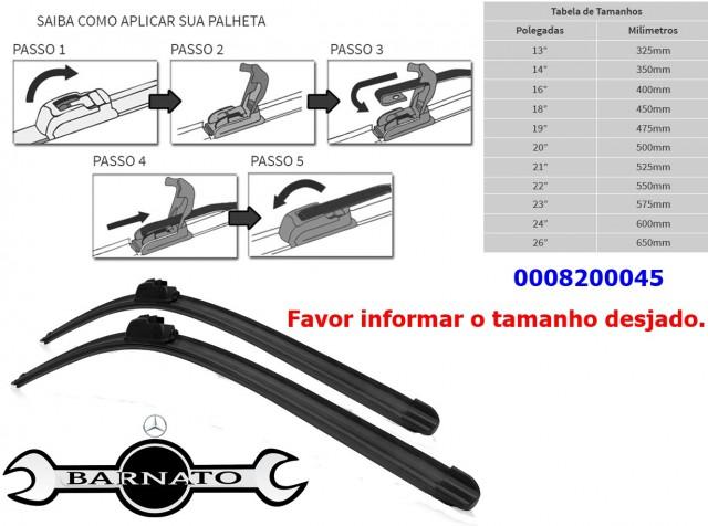 PALHETA DO LIMPADOR GANCHO 0008200045