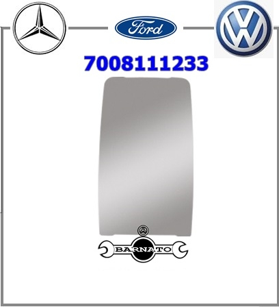 VIDRO ESPELHO RETROV FORD/MB/VW MEDIO CONVEXO  7008111233