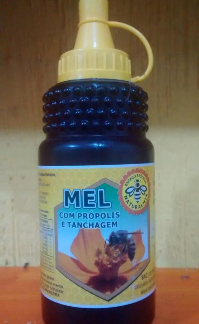 MEL COMPOSTO C/PRÓPOLIS E TANCHAGEM 500g