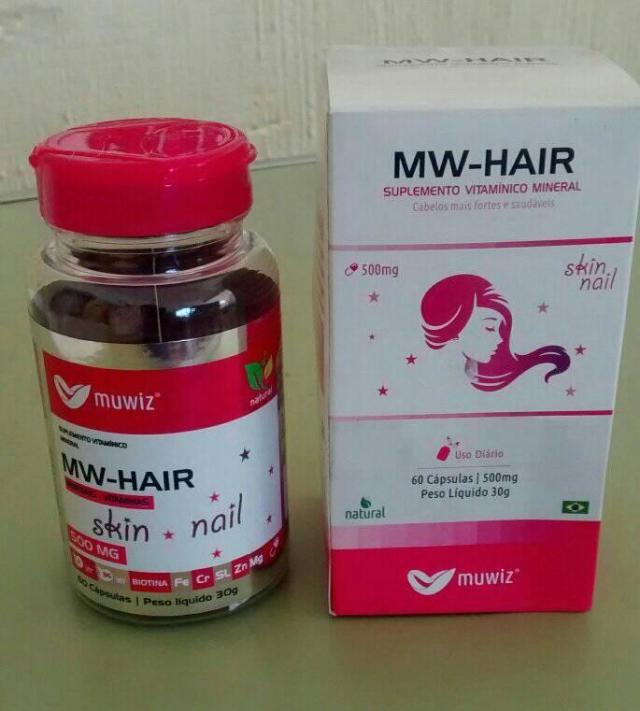 MW HAIR SKIN NAIL 60 CAPS.