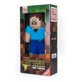 Boneco De Pelúcia Zr Toys Minecraft: Steve