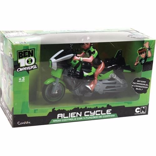 Aliencycle Ben 10 Controle Remoto 7 Func Bat Rec C